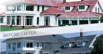tetőfelújítás képek: előtte-utána