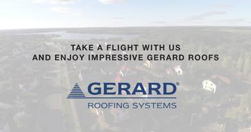 Nagyszerű GERARD referencia tetők madártávlatból