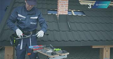 GERARD® Tetőcsalád - Kivitelezési technikák: Kéményszegély