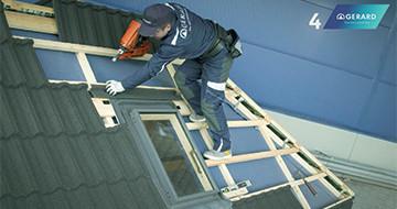 GERARD® Tetőcsalád - Kivitelezési technikák: Tetőkibúvó ablak