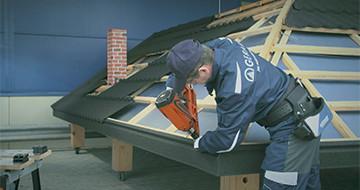 GERARD® Tetőcsalád - Kivitelezési technikák: Ereszszegély
